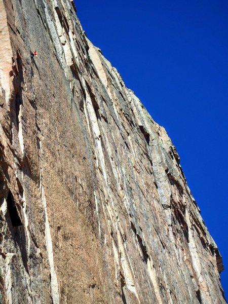 Rock Climbing Photo: Jonathan Siegrist, Aug. 14th, 2016.