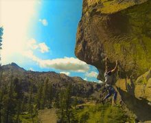 Rock Climbing Photo: hanging it out
