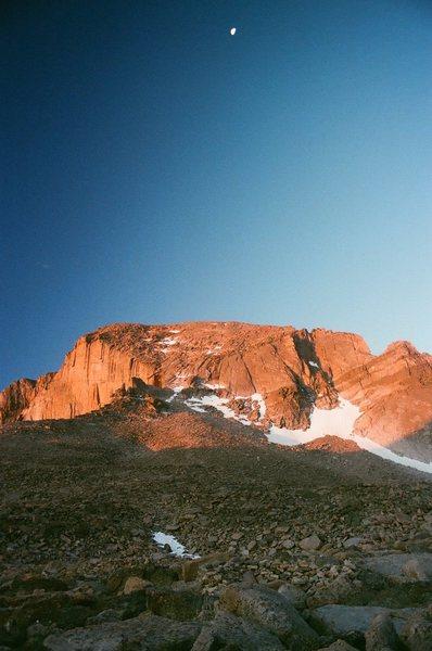 Longs Peak North Face