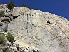 Rock Climbing Photo: Iris Slab