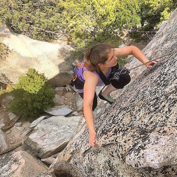 climb face