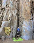 Rock Climbing Photo: ortega falls