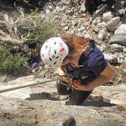 Rock Climbing Photo: crystal lake boulder