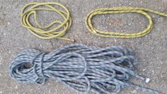 Rock Climbing Photo: Retired rope 1