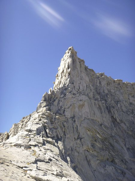 Horn Peak (N. Arete) from near Horn Col.