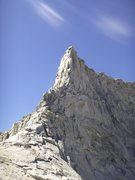 Rock Climbing Photo: Horn Peak (N. Arete) from near Horn Col.