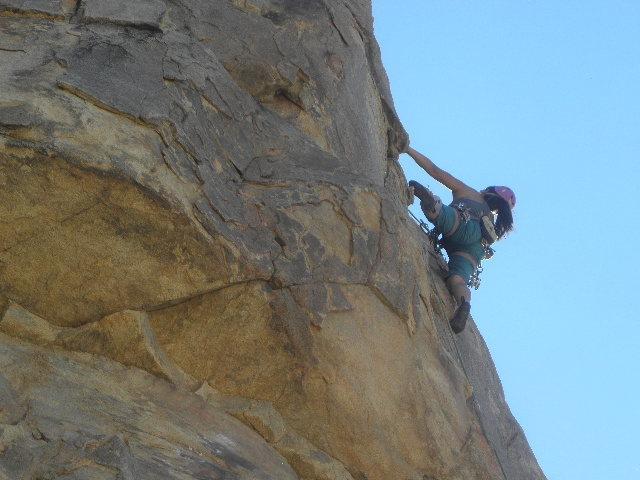Rock Climbing Photo: Becca Corbin on The Llama