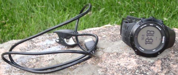 Suunto Ambit3 Peak Black with USB cable