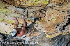 Rock Climbing Photo: Anthony still cruising