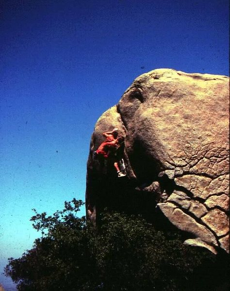 Rock Climbing Photo: Greg Epperson, 1984