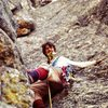 1974 - poor picture.  The first time of more than a dozen times up this great route.  Totally kids, hardest climb up to that point, a rack of nuts, a couple of bongs (as in old big pitons) and the old Ortenberger Guide book.  <br> <br> Last time I climbed it was in the late 90&#39;s with my teenage son.  The Snaz has been a big part of my life of climbing.