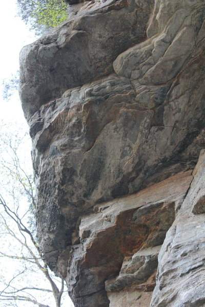 Rock Climbing Photo: Overhangs