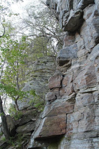 Rock Climbing Photo: Rocks?