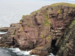 Rock Climbing Photo: The Point of Stoer .. showing The Great Corner