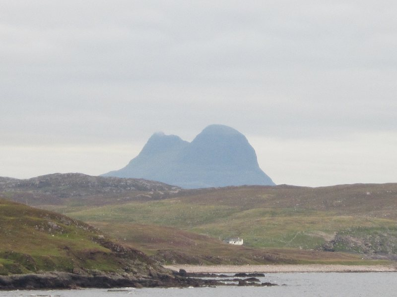 Rock Climbing Photo: Suilven Mt from Stoer.