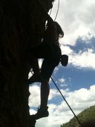 Rock Climbing Photo: Toprope up Maple Canyon in UT