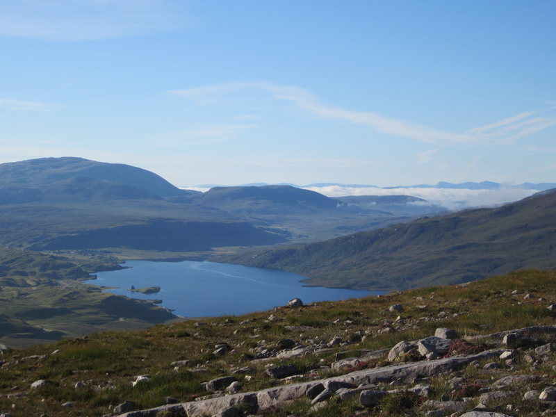 views from Quinag