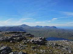 Rock Climbing Photo: Looking towards Mt Suilven