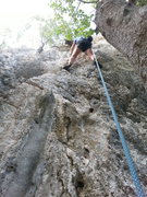 Rock Climbing Photo: Paolo on Jessica First ascent.