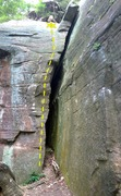 Rock Climbing Photo: Nice big crack