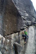 Rock Climbing Photo: Finishing up the traverse right