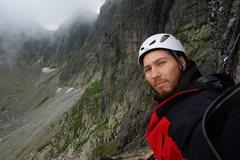 Rock Climbing Photo: selfie:)