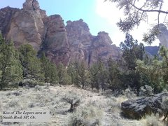 (8.16.16) Kiss of the Lepers area, Smith Rock SP