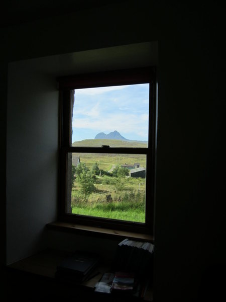 View from the Scottish Mt Club hut window