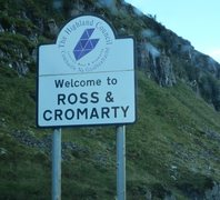 Rock Climbing Photo: Nice welcome for me and Uncle Cromarty