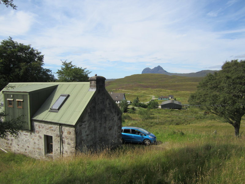 The Scottish Mountaineering Club hut.