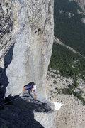 Rock Climbing Photo: Pitch 6ish of Liberty Crack
