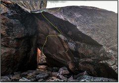 Rock Climbing Photo: Prehistoric Bitch.