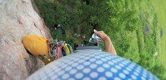 Rock Climbing Photo: Onsight lead of Incapacitation (5.8) on July 18, 2...