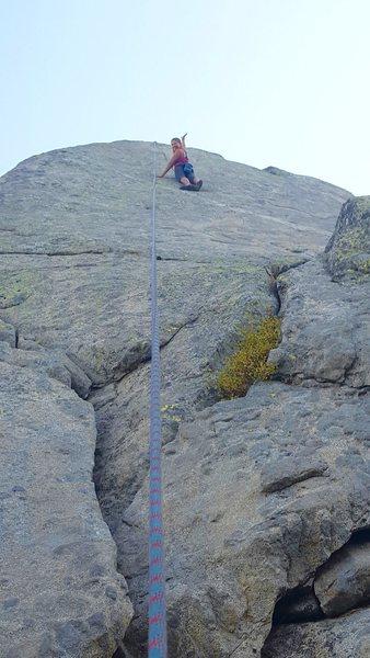 Rock Climbing Photo: Donner Lake