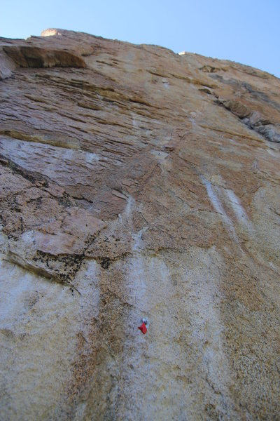 Rock Climbing Photo: Ghost Turds 5.12c? bolts, gear to #3-4BD Just righ...
