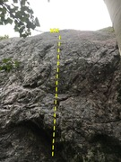 Rock Climbing Photo: Side Chick
