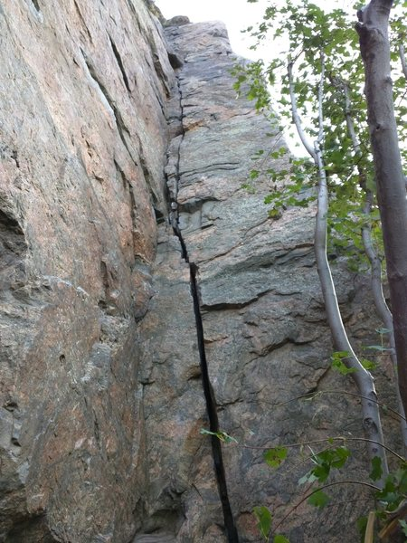 Rock Climbing Photo: Actually a trad route at Canal Zone. 5.9