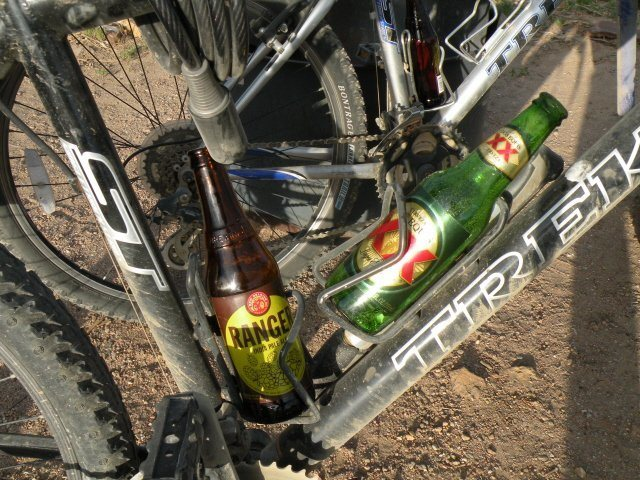 Trail-ready refreshment.