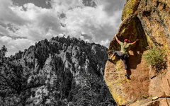 Rock Climbing Photo: The Epilithic Wave of Mental Crux.  Scary and beau...
