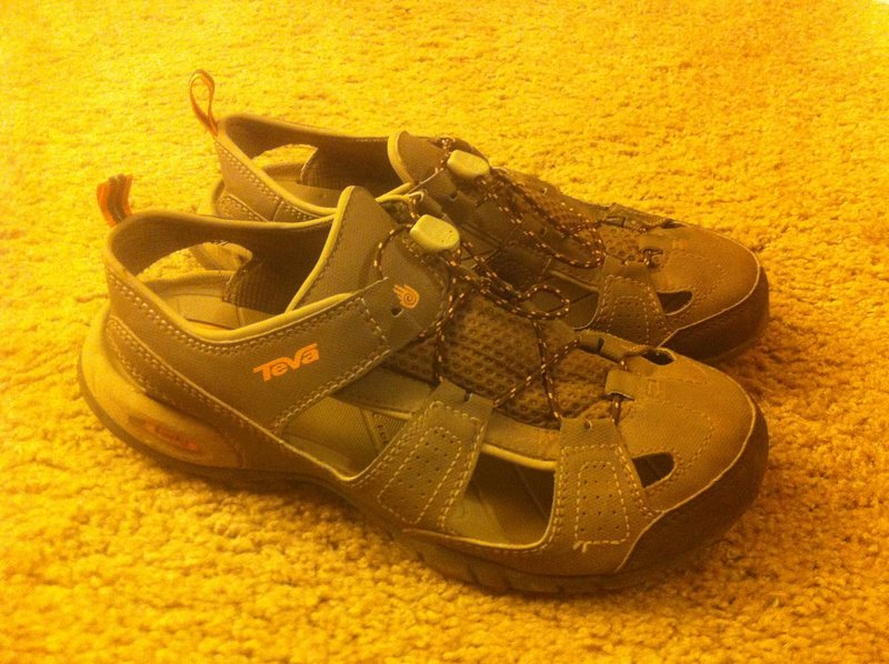 Rock Climbing Photo: Wms size 8, Teva sandals, great condition $25