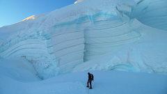 Rock Climbing Photo: On the northwest ridge.