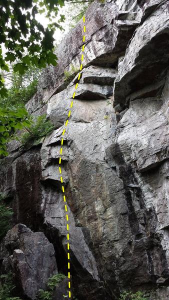 Rock Climbing Photo: La vie d'ange 5.13a