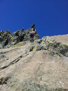 Rock Climbing Photo: Rapeling the route