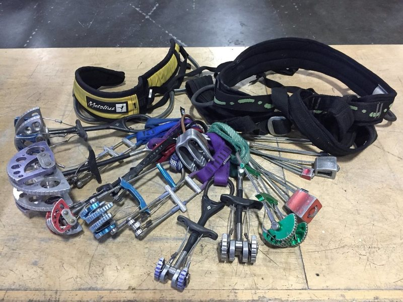 Rock Climbing Photo: Found gear given to Dogpatch Boulders