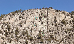 Rock Climbing Photo: Grépon sector in Rush climbing area overview of f...