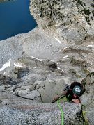 Rock Climbing Photo: Natalie Brechtel topping out P7 with Hungry Packer...