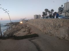Rock Climbing Photo: People's Wall Traverse, La Jolla