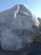 Rock Climbing Photo: Lucha Libre Dyno