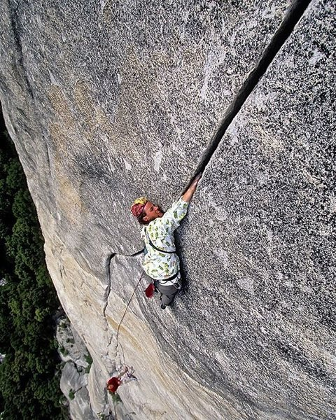 Jason Smith on the Slammer Hands (Pitch 4) of Sons of Yesterday. Credit: Jim Thornburg.