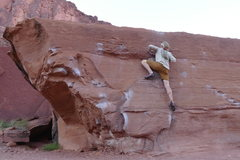 Rock Climbing Photo: Playing on Flat Top